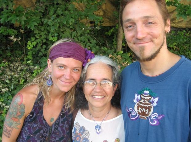 Eden Sky & Robert Sky with Grandmother Maria Alice