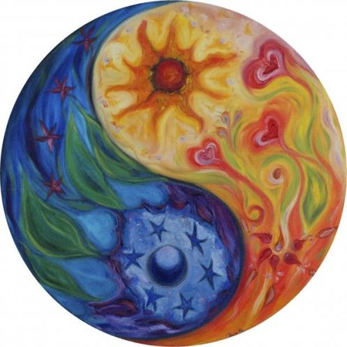 Yin Yang by Moira Gil John