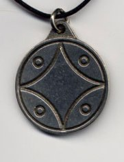 Yellow Star Glyph Pendant